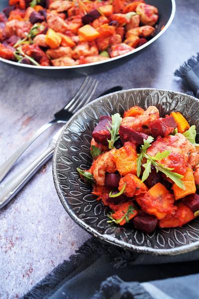 A natúr csirke és sült zöldség is lehet izgalmas, ha Bea készíti - Nézzétek csak!