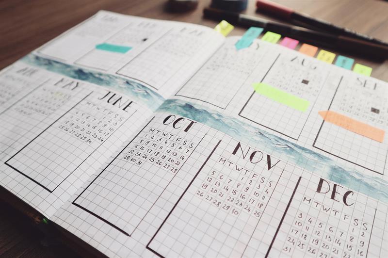 Egyedi határidőnaplót szeretnél? Tudod, mi az a Bullet Journal? (Felidéző)