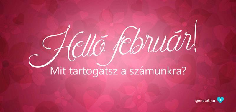 Helló, február!