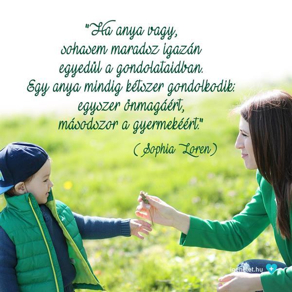 Isten éltessen minden édesanyát!