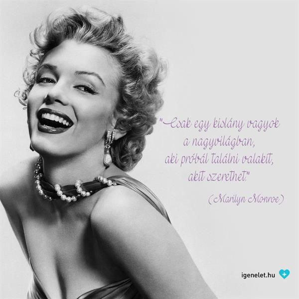 Kit szeretünk, hogyan és miért? Marilyn Monroe sem találta az Igazit! (Felidéző)