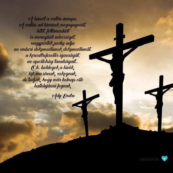 Nagypéntek nélkül nincs feltámadás!