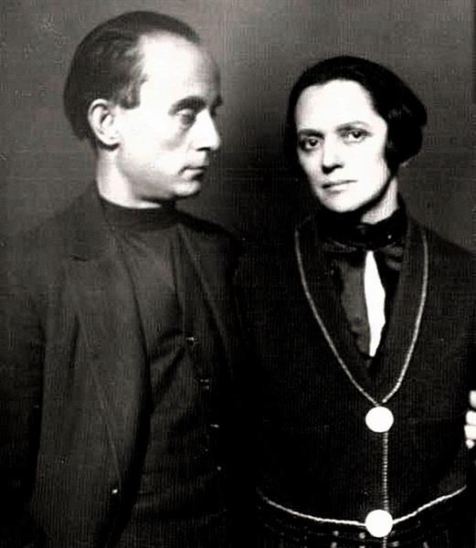 Nő a művész mögött, mellett - Simon Jolán, Kassák Lajos felesége