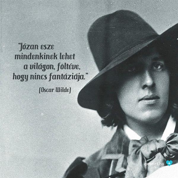 Oscar Wilde meg a józan ész