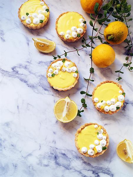 Tavaszváró, könnyű citromos pite