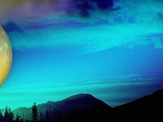 Az este verse - Czóbel Minka: Tört sugárban