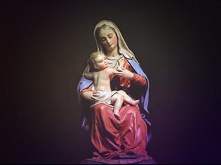 Az este verse - Dsida Jenő: Mária szobra a kertben