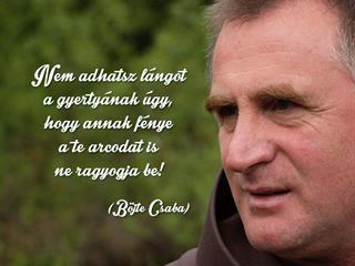 Böjte Csaba a jóságról