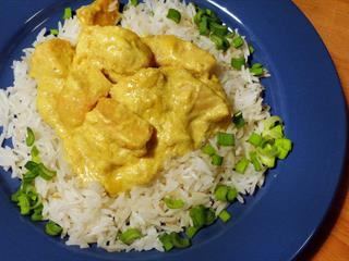 Currys-tejszínes csirkemell