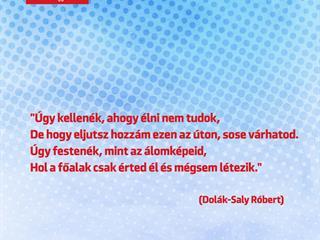 Dolák-Saly Róbert az álomképekről