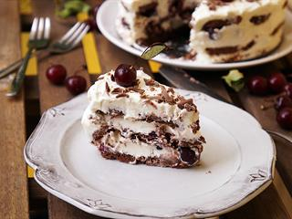 Feketeerdő torta sütés nélkül