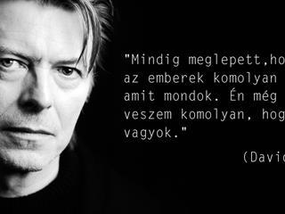 Isten Veled, David Bowie!