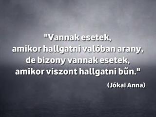 Isten veled, Jókai Anna!