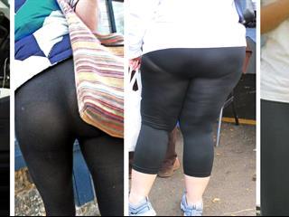 Könyörgöm, lányok! A leggings nem nadrág!