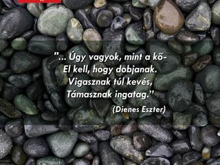 Mint a kő...