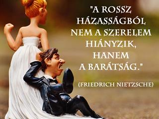 Nietzsche házasságról, barátságról