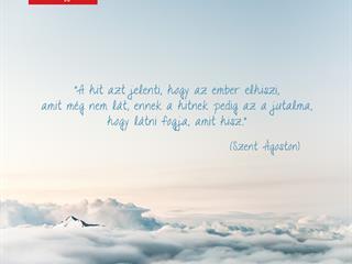 Szent Ágoston a hit jutalmáról