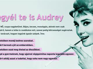 Tanulj Audreytól!