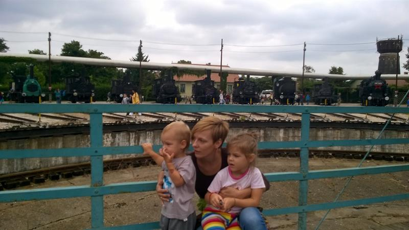 Petra a gyermekeivel