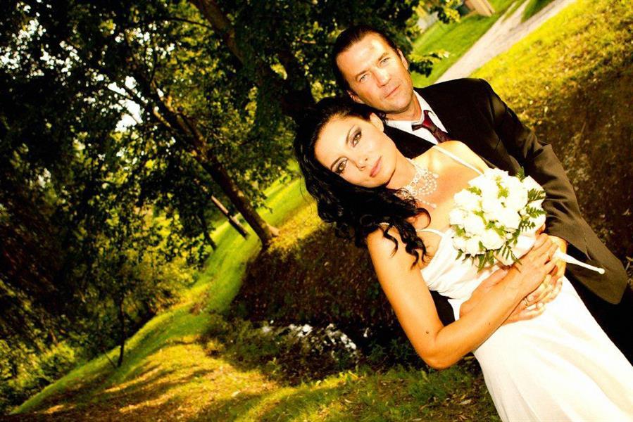 Gregor Bernadett és Szarvas Attila 2014 nyarán házasodtak össze