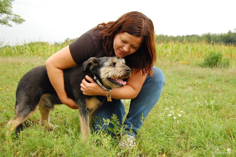 Heléna ért a kutyák nyelvén