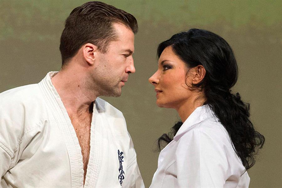 Színpadon és magánéletben is egy pár (forrás: ujszinhaz.hu)