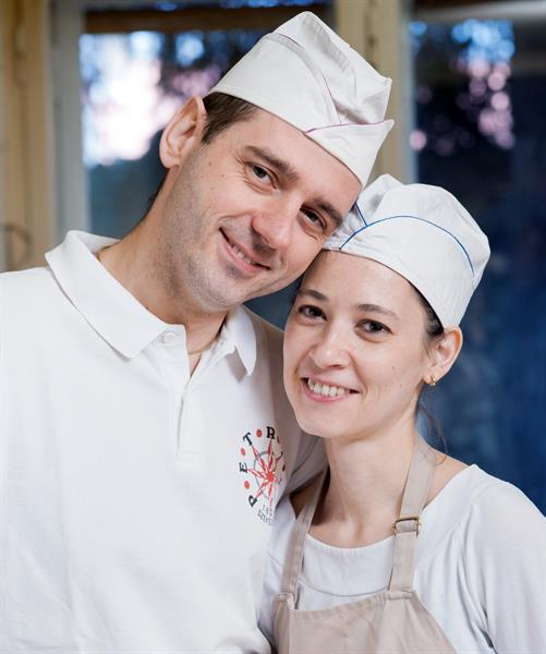 Petrits Szilveszter és felesége, Tünde (fotó: Nagy Ági)